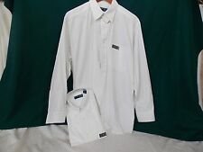 Six Pinpoint Cotton Pringle LS Dress Shirts L White for only $5/ea.