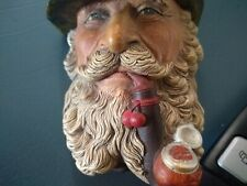 collectible Made In England / Bossone Plaster/ Man With Pipe And Hat