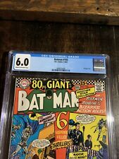Batman Comic #193 CGC 6.0 ⭐️ 80 Page Giant⭐️1967 With Off-White Pages⭐️