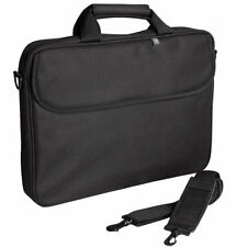 "15.6"" Techair Black Toploader Laptop Case Notebook Protector Bag with Strap New"