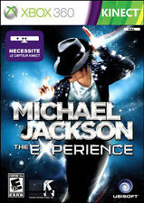 Xbox 360 Michael Jackson The Experience Kinect Game PAL New & Sealed