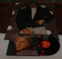 ROD STEWART:LP-FOOLISH BEHAVIOUR-ORIGINAL+POSTER EX