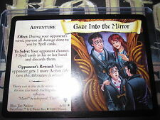 HARRY POTTER TCG QUIDDITCH CUP GAZE INTO THE MIRROR 6/80 RARE ENGLISH MINT