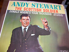 ANDY STEWART-THE SCOTTISH SOLDIER-VINYL-NM-CAPITOL 6000 SERIES