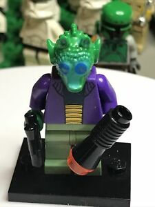 Lego Onaconda Farr MISPRINT Greedo Star Wars Minifigure 8036