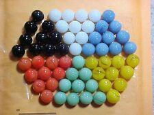 """JABO CHINESE CHECKERS  SET OF 60 .. 9/16"""" (+or-)GAME MARBLES $8.99 POSTPAID!!!"""