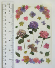 Mrs Grossman HYDRANGEA STEMS, Photoessence - Sheet of Flowers Stickers