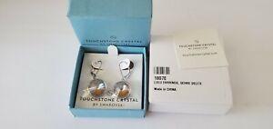 Touchstone Crystal by Swarovski LuLu Crystal Earrings  - Various colors - NIB