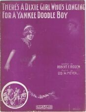 There's A Dixie Girl Who's Longing For A Yankee Doodle Boy, 5 Banjo Phiends,1911