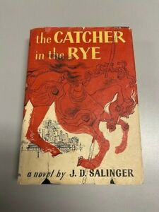 The Catcher In The Rye by J.D. Salinger Little, Brown & Company 1951 HC + DJ