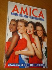 AMICA 1989/9= MAGAZINE SPECIALE NUMERO DA COLLEZIONE UN MONDO DI MODA=