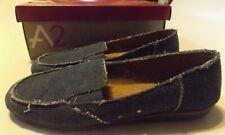 7.5 M Women's Aerosoles Canvas/Denim Slip-On Shoes New Faded Indigo Software