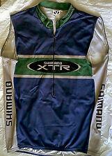 Vtg Shimano XTR - Voler USA Sleeveless Cycling Jersey XL atb