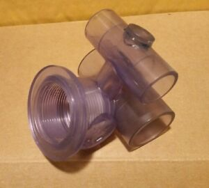 """HYDROAIR Micro Jet Body - 30-5601,  1"""" water, 1/2"""" air , spa hot tub"""