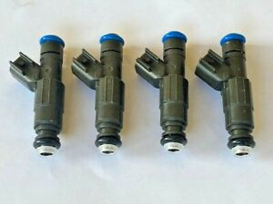 Bosch Upgrade Fuel Injector Set NEW X 4 fits 4cyl Mopar 2007-2020 4891577AC