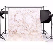 8x8ft Romantic Flower Wall Photo Backdrop Prop Wedding Background Seamless Vinyl