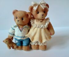 Cherished Teddies Bernard And Bernice Ct972 Members Only Figurine