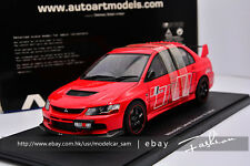 AUTOart 1:18 Mitsubishi Lancer  EVO 9 RALLIART RED