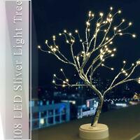 Tree Light Deco Desk Lamp Night Lights USB Bedside Cafe Bar 108 LED Crafts Star