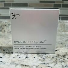 It Cosmetics Bye Bye Pores PRESSED Airbrush Translucent Powder NEW IN BOX