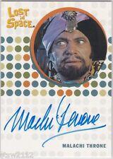 THE COMPLETE LOST IN SPACE MALACHI THRONE SHEIK ALI BEN BAD AUTOGRAPH