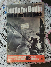 Battle for Berlin end of Third Reich Earl Ziemke PB Book Illustrated Throughout