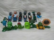 14 Plants Vs Zombies Action Figure Sunflower Cake Topper Kids Gift Toys