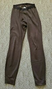 EUC Patagonia Men's Capilene Bottoms Pants Base Layer Long Johns Brown Small S