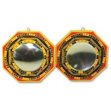 Set of 2 Chinese Feng Shui Bagua Mirror Convex Concave 12145 S-3304