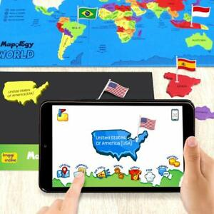 Augmented Reality Educational and Interactive Learning Toy of Mapology World
