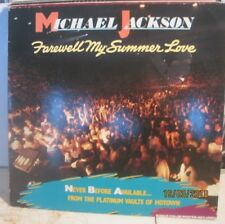 MICHAEL JACKSON farewell my summer love +POSTER free uk POST