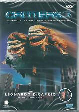 Critters 3 (1991) DVD NUOVO SIGILLA Leonardo Di Caprio, Diana Bellamy, J. Calvin