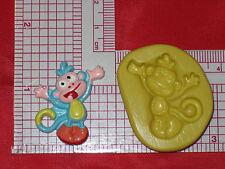 Boots Monkey Dora Explorer Silicone Mold A547 Candy Fondant Soap Wax Resin