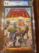 SAVAGE DRAGON #226 IMAGE 8/17 CGC 9.8 WHITE PAGES UNIQUE TRUMP COVER!!