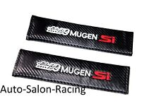 New 2PCS MUGEN SI Car Seat Belt Cover Pads Shoulder Cushion For HONDA CIVIC SI