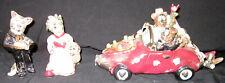 Blue Sky Heather Goldmine Wedding Car Music Box, Ring Bearer, Flower Girl Cats