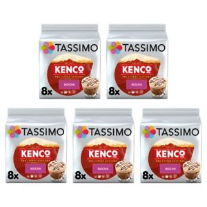 Tassimo Kenco Mocha Coffee Pods T-Discs Pack of 5 (Total of 40 Servings)