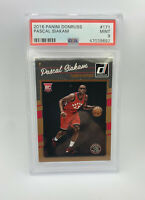 2016 Panini Donruss #171 Pascal Siakam RC Rookie PSA 9 MINT! Raptors All Star!