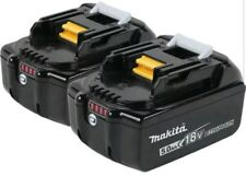Makita 18V 5.0 Ah LXT Lithium-Ion Battery (2-Pack) BL1850B-2 New