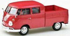 Nice 1/24 -27 Volkswagen Bus Type2 Doka Red Motormax