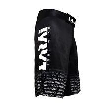 Larai Minimo Black Grappling Shorts Bjj Jiu Jitsu No Gi Mma Fight Training