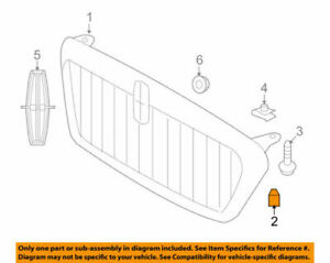 Lincoln/Ford OEM 2006-2008 Mark LT Grille Bumper 4L3Z16758AC New in package