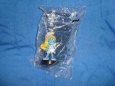"Smurfs Lost Village Smurfette PVC Collectible Figure Snapco cup topper 3.25"" NIP"
