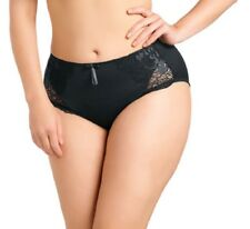 Elomi Women's Amelia EL8745 Black Brief NWT Large Sizes Available