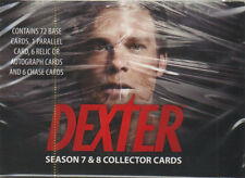 DEXTER SEASONS 7 & 8 COLLECTOR CARDS (THE FINAL SERIES - One Factory Sealed Box