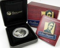 .2010 LACHLAN MACQUARIE GOVERNOR Silver Proof Coin