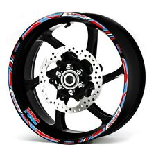 Motorcycle 17 inch Honda Racing HRC CUSTOM RIM STRIPES WHEEL DECAL TAPE STICKER