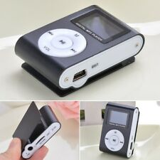 1*Small LCD Digital MP3 Player Clip USB Music Play Support 32GB Micro SD TF Card