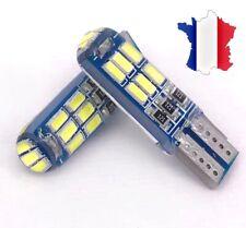 2 VEILLEUSES LED W5W T10 BLANC XENON 12v 15 smd AMPOULE LED auto/moto 5000K 💥💥