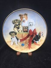 Franklin Mint Collectors Plate Basket Of Cheer